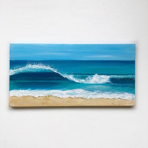"12""x24"" Seascape Painting"