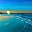 "Thumbnail: The Blue Sunset - 14""x18"" Acrylic on Canvas"