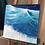 "Thumbnail: Transparent Waves - 18""x18"" Acrylic on Canvas"
