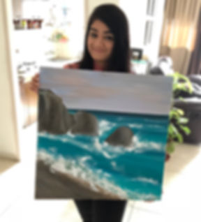 Riddhi Malhotra Affordable art seascape