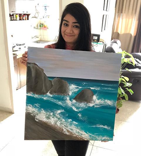 Riddhi Malhotra Affordable art seascape