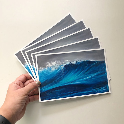 "5""x8"" Postcards - Seascape Print - Set of 10"