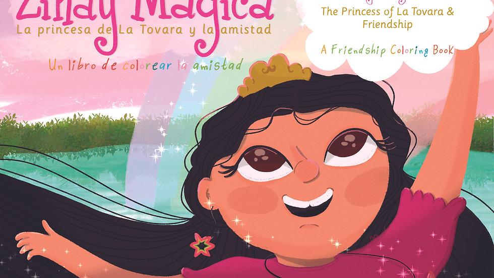 Zinay Mágica -  The Princes of La Tovara & Friendship (A Coloring Book)