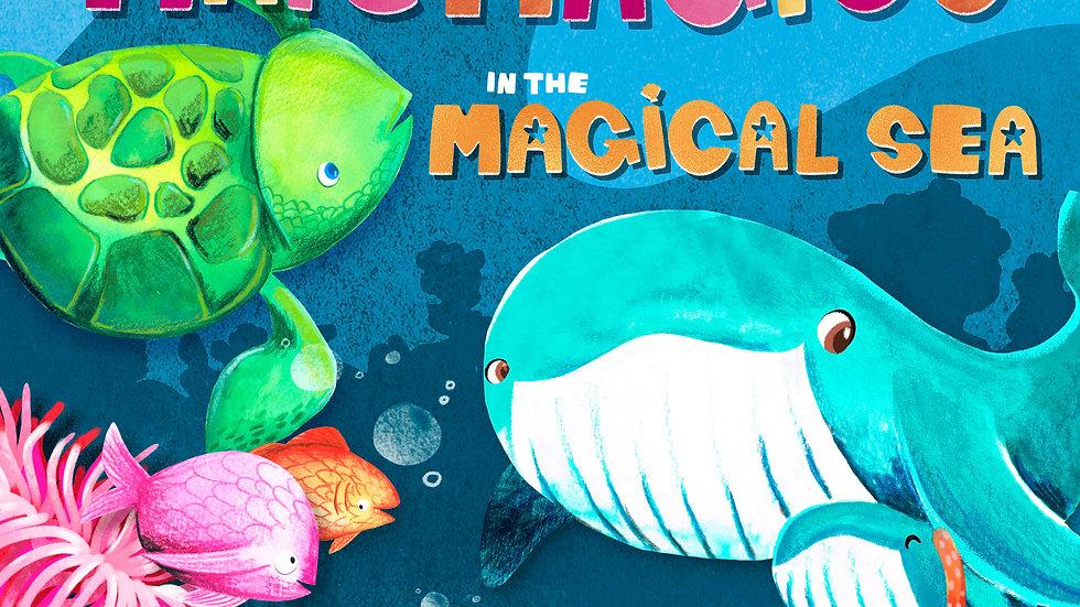 En el mar mágico - In the Magical Ocean (Spanish and English Edition)