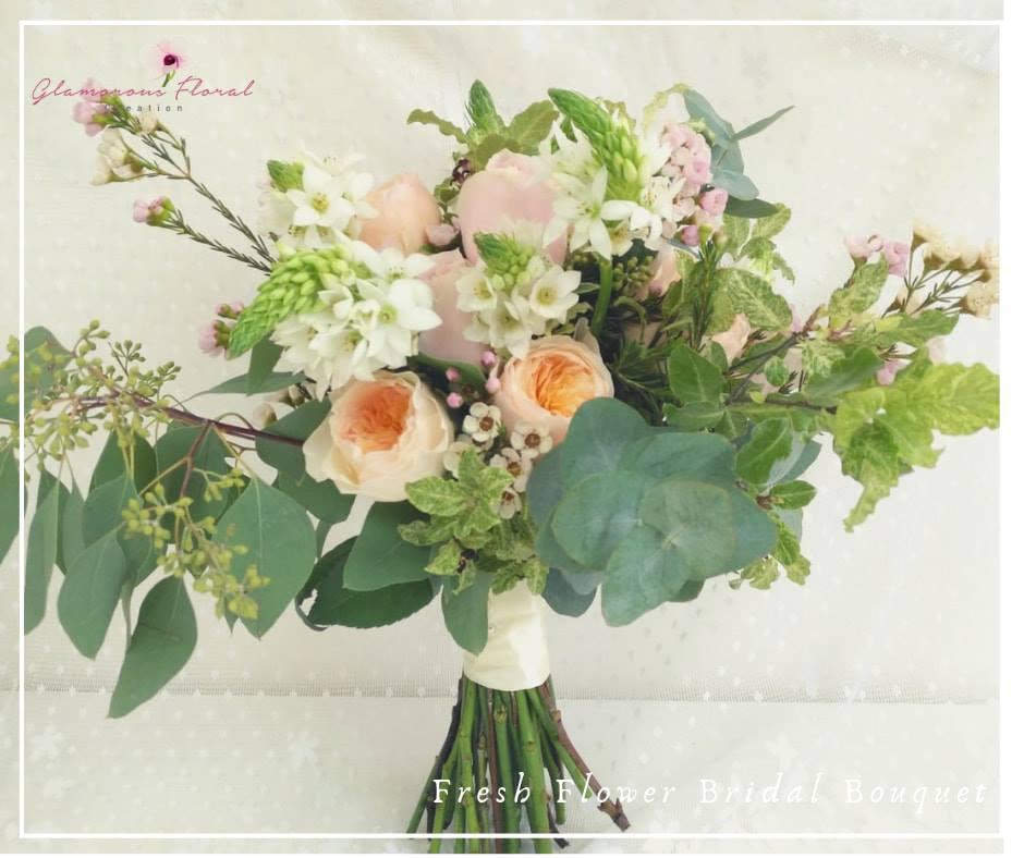 庭園玫瑰瑪莉亞玫瑰鮮花花球