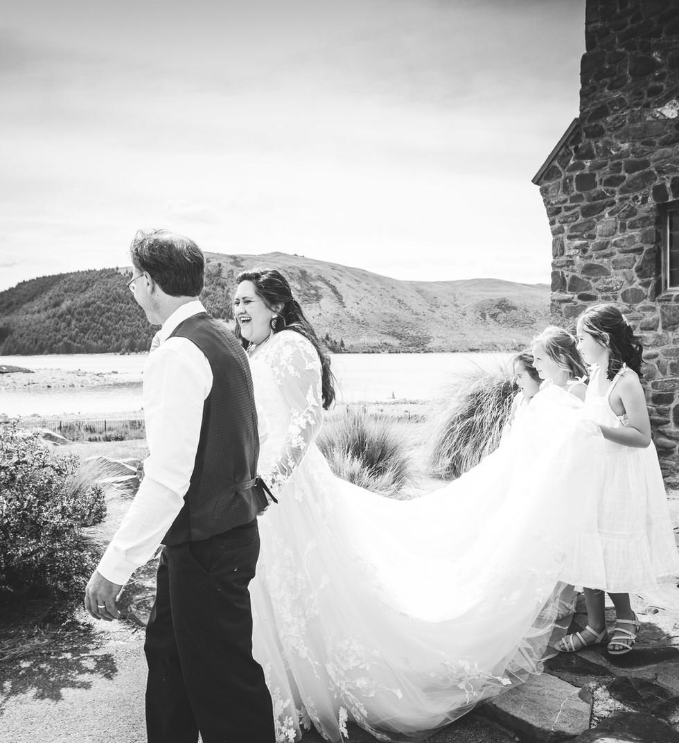 Lake Tekapo wedding