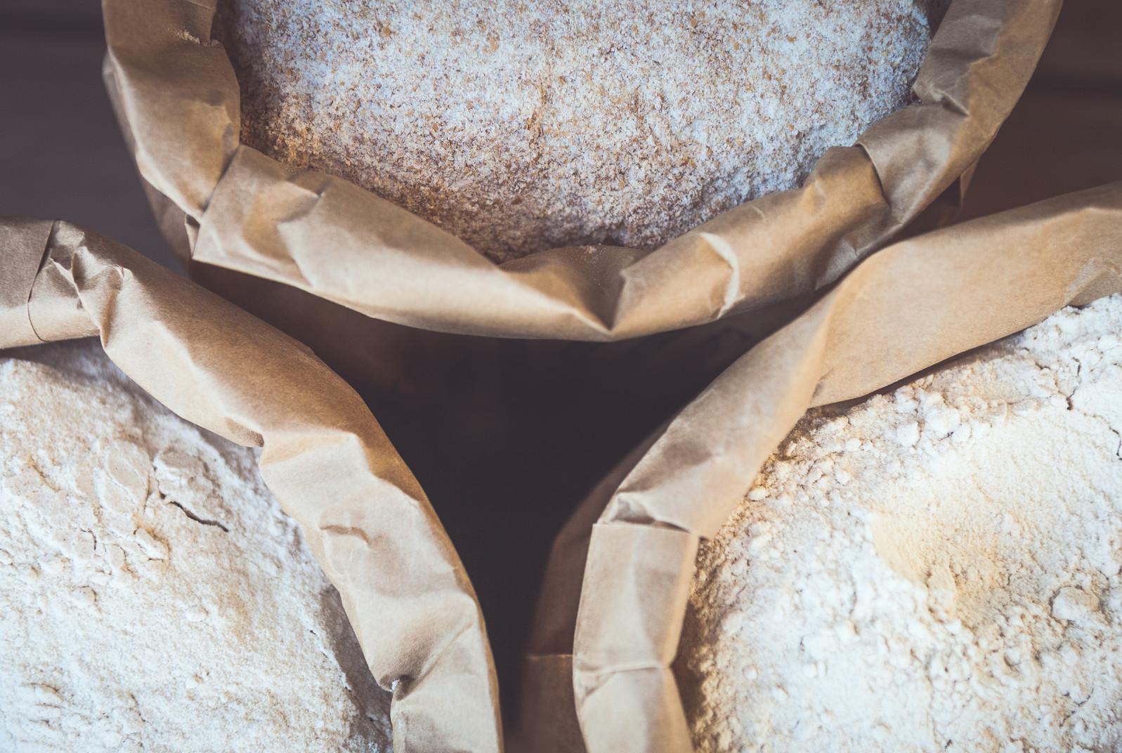 Stoneground flour