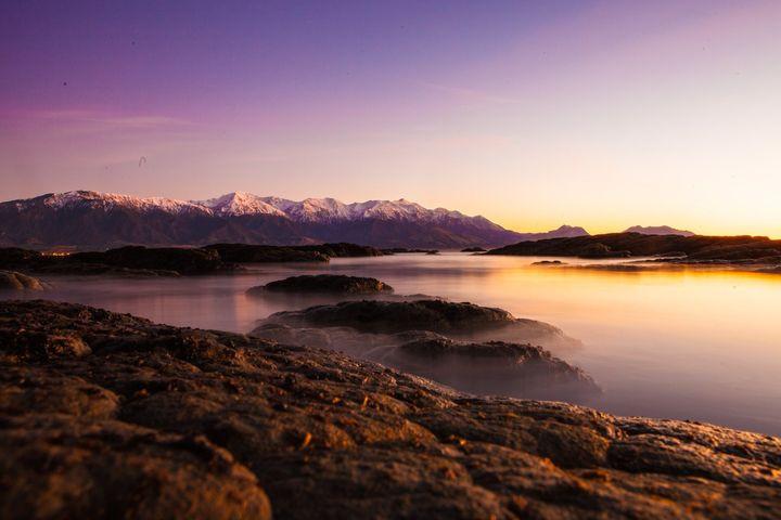 Kaikoura sunrise landscape photography