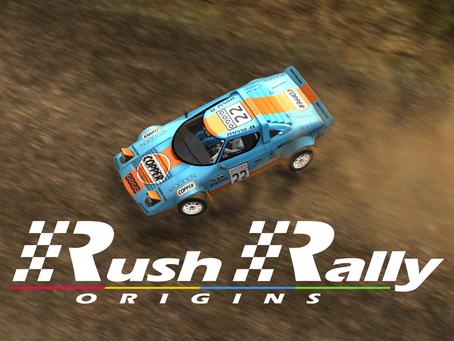 Pre Order - Rush Rally Origins