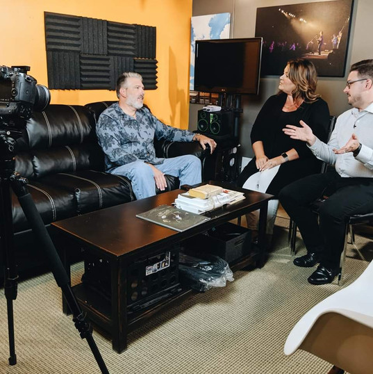 Connecting Cookeville's Amber Flynn Jared and Zach Buckner interview with Officer deClaire.