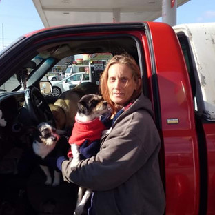 This woman ran out of gas in Algood.  She had been sleeping in her truck for a few days.  She needed gas to get back to Kentucky.  The CHF filled her tank up and gave her a food gift card.
