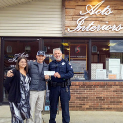 Acts Interiors Trevor and Michelle Barrett donate to the CHF on a regular basis.