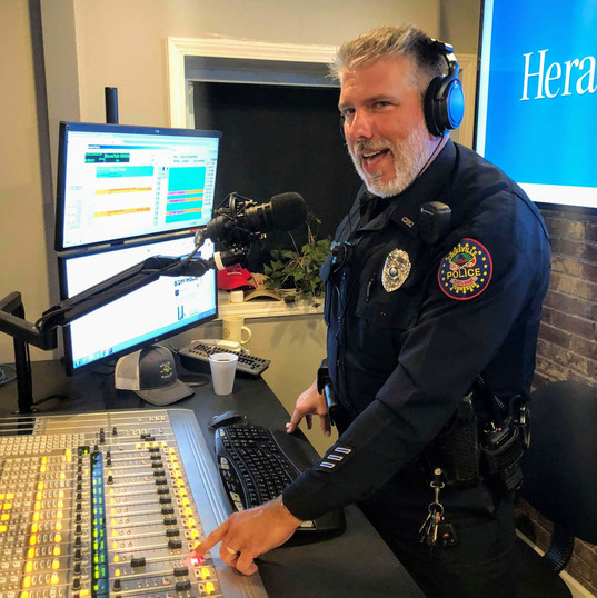 Officer deClaire on the Brent Fleshman Morning Show.
