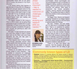 Overcoming Learning Disability Page 2