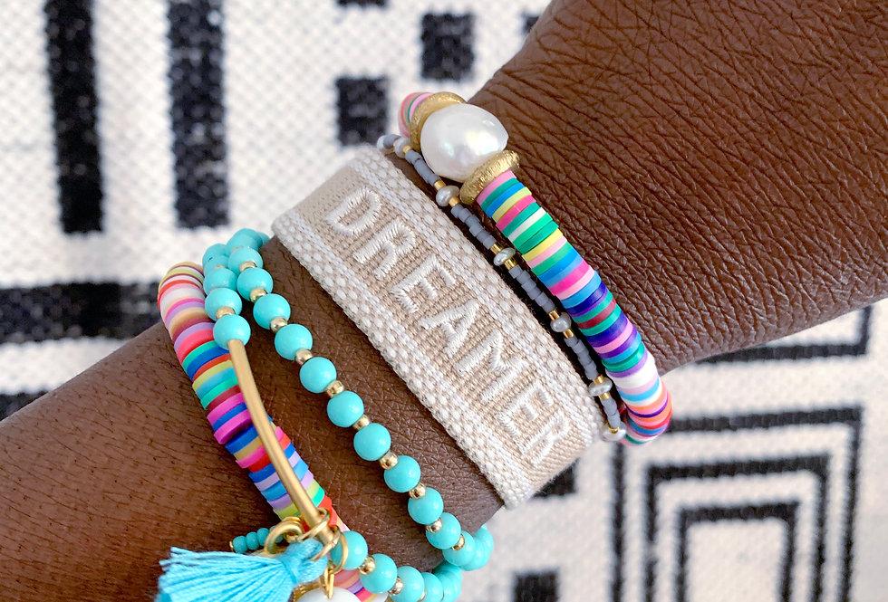 Word Band Bracelet