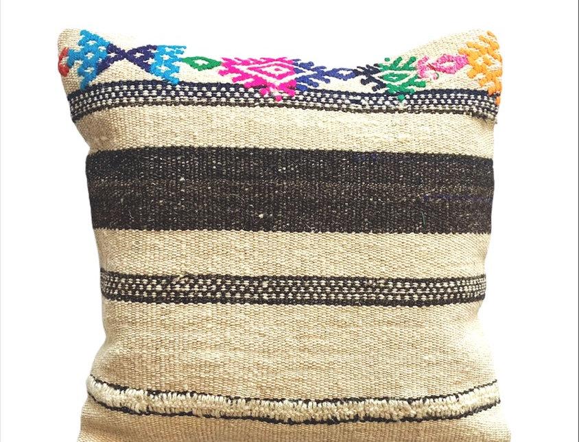 Bohemian Dhurrie Pillow
