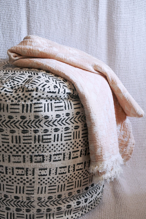 VB | Mud-Cloth Pouf