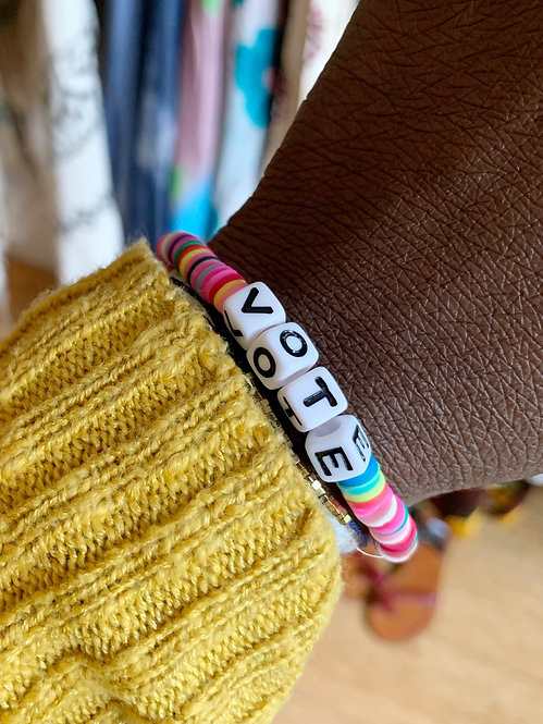 Bohemian VOTE Bracelet