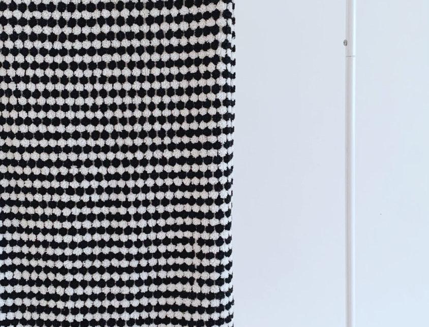 Beach Towel | Black and White