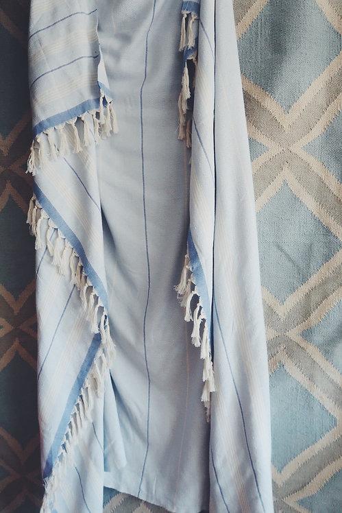 Stripe Botton Blanket