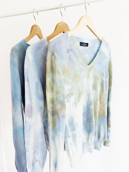 Dyed Cashmere Sweater | Medium