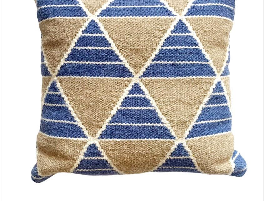 Tri Dhurrie Pillow