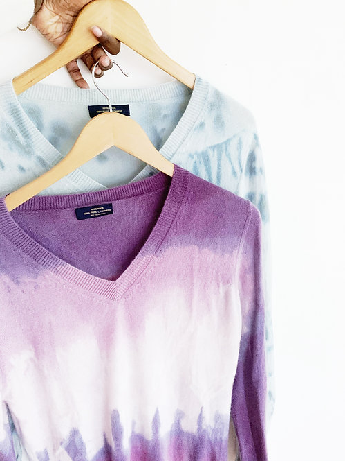 Dyed Cashmere Sweater | Large