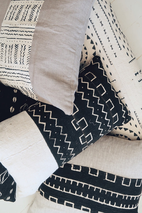 Vintage Mud-cloth Pillow