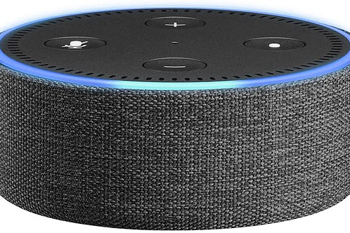 Echo Dot Fabric Case - Charcoal