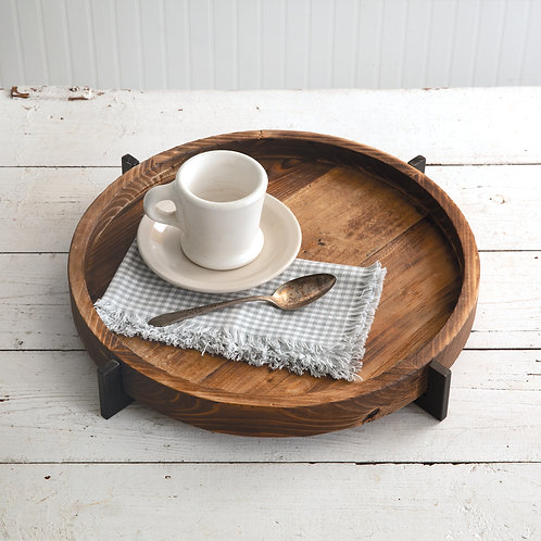 Modern Rustic Wood Tray