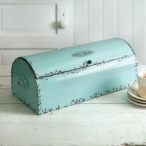 Vintage Bread Box - Seafoam