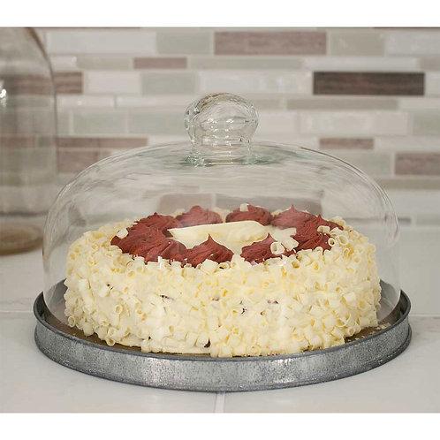 Dessert Cloche with Base