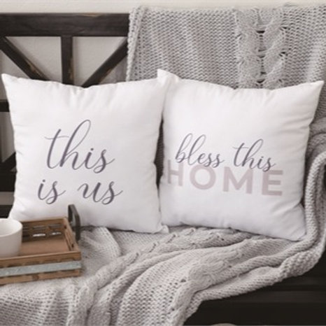Fabric Home Pillow