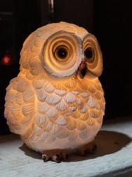 Owl Solar Garden Light