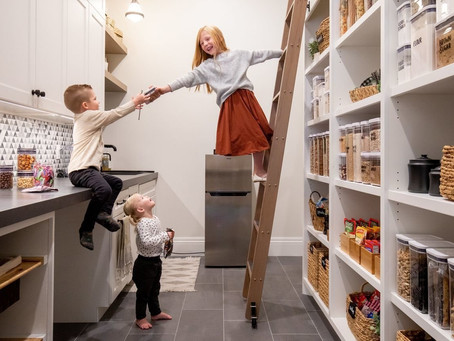 High End Pantries are Now the 2nd Kitchen