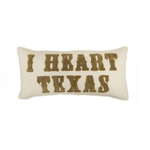 Texas Brown Bandana Quilt Rectangle Pillow