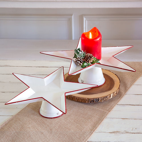 Set of Two Star Stands
