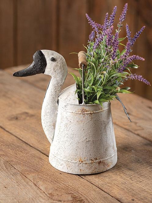 Goose Bucket with Wood Handle