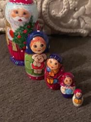 Russian Christmas Nesting Dolls