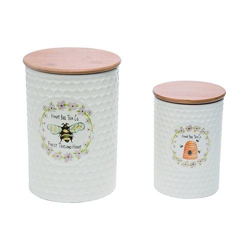 Honey Bee Tea Co. Canister