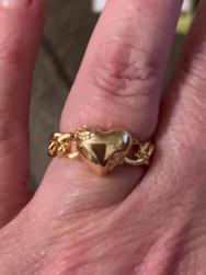 Chain Heart Ring