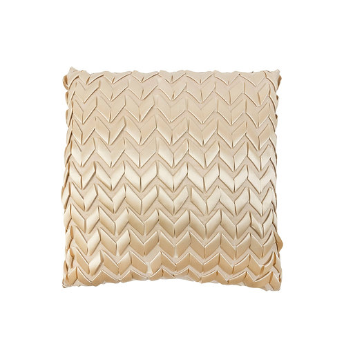 Texas Brown Bandana Quilt Ribbon Pillow