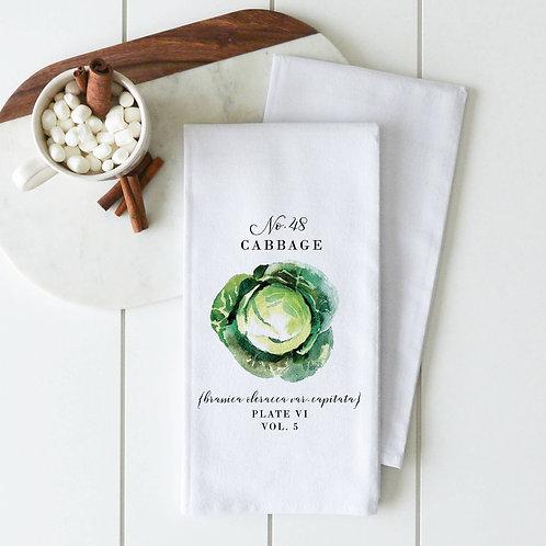 Cabbage Tea Towel