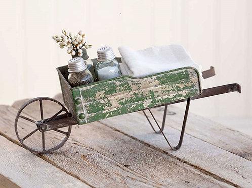 Tabletop Wheelbarrow Kitchen Caddy