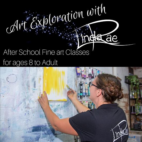 Art Exploration Term Enrolment (with Kit-$20)
