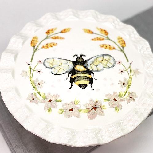Dol Honey Bee Tea Co. Cake Stand
