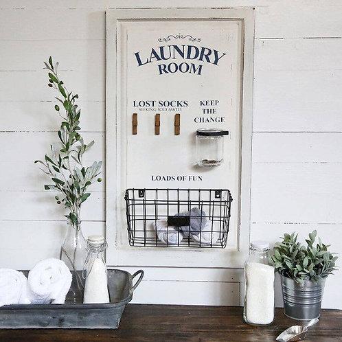 Laundry Room Lost Socks Wall Decor
