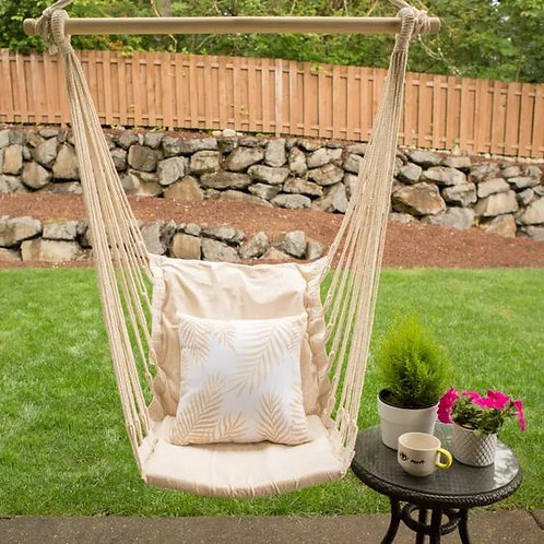 Cotton Padded Swing Chair Hammock