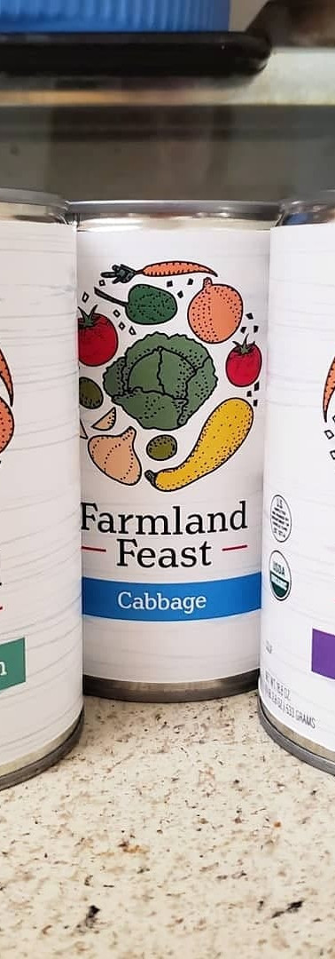 Farmland Feast Soup Package Design