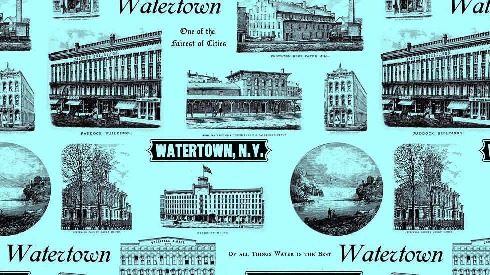 Watertown Historic Wallpaper